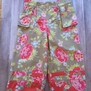 Oilily Girls Floral Pants, Size 104